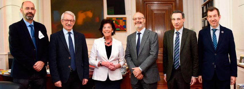 Escuelas Católicas se reúne con la ministra de Educación, Isabel Celaá
