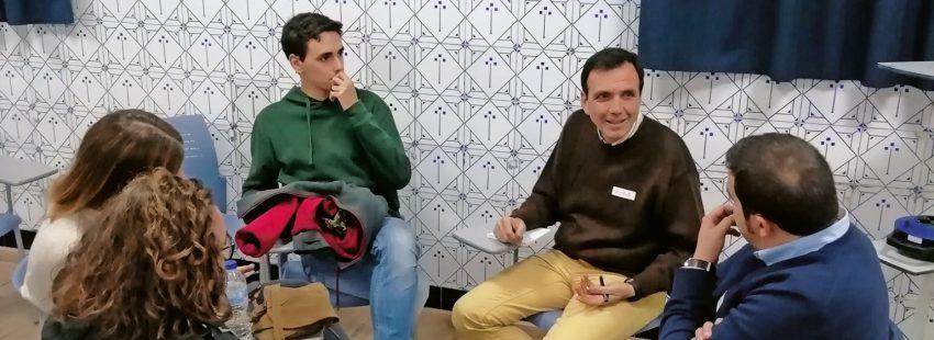 Encuentro jóvenes en Valencia con Enrique Lluc