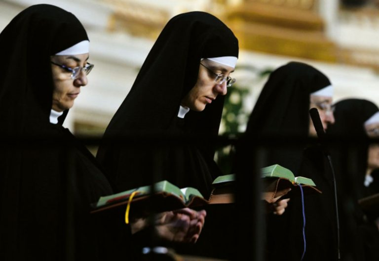 Agustinas del monasterio de los CUatro Santos Coronados de Roma