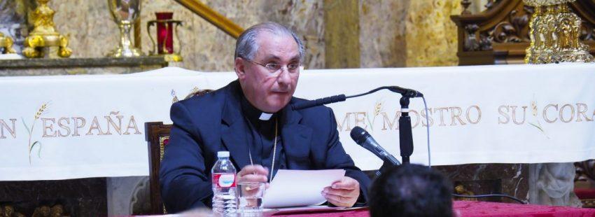 El arzobispo de Mérida-Badajoz, Celso Morga