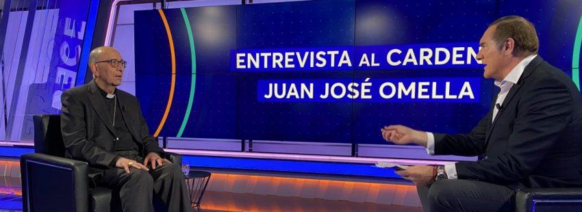 Juan José Omella, en TRECE