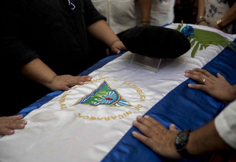 Funeral de Ernesto Cardenal