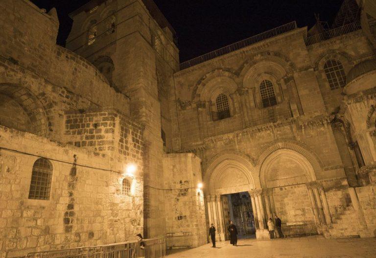 Entrada al Santo Sepulcro de Jerusalén