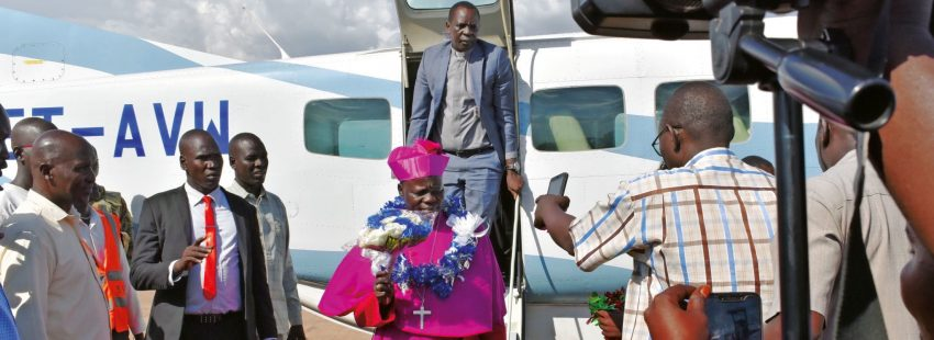Stephen Ameyu Martin Mulla, arzobispo de Sudán del Sur