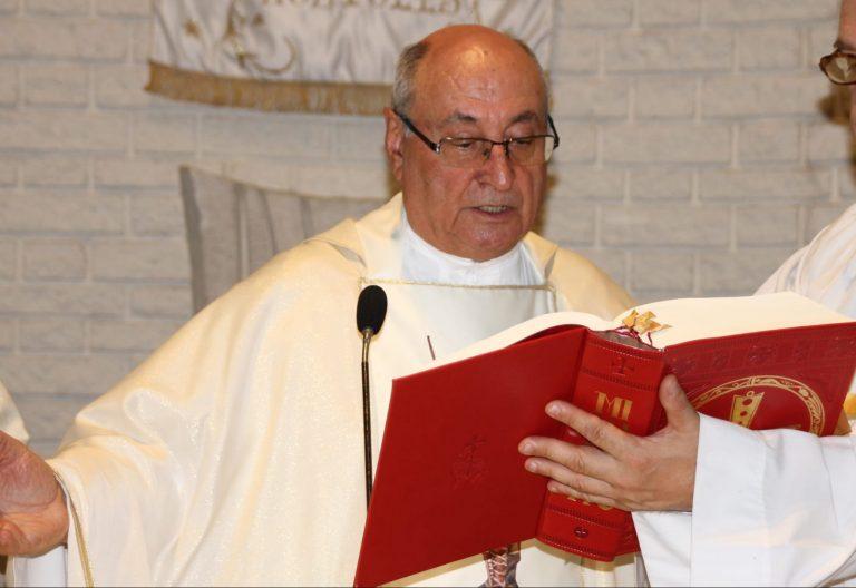 Manolo García Barrio, en la parroquia del Divino Pastor