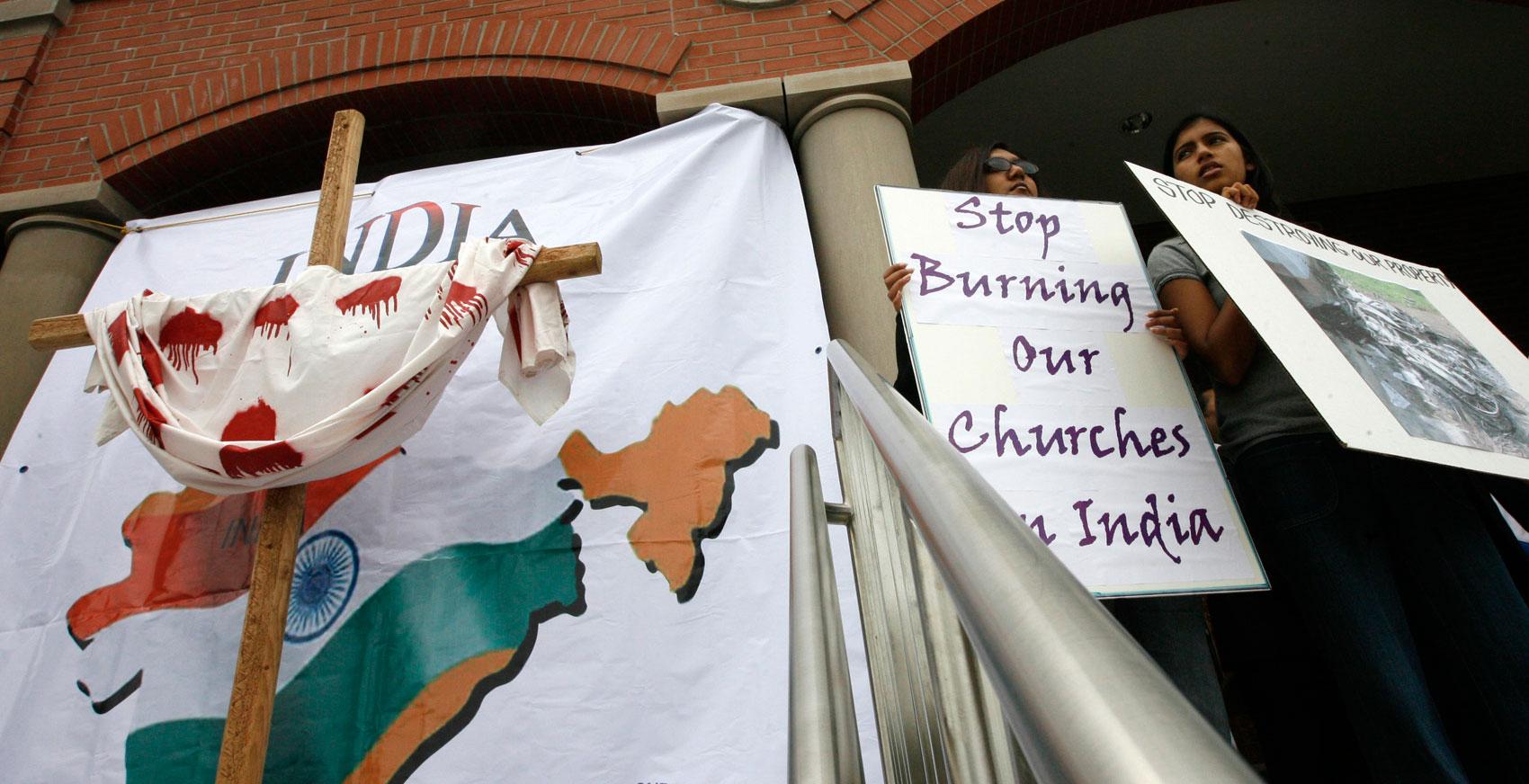 India, catolicos perseguidos