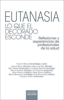 Eutanasia. Lo que el decorado esconde, libro de Sígueme