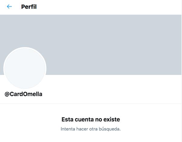 Tuit falso Omella