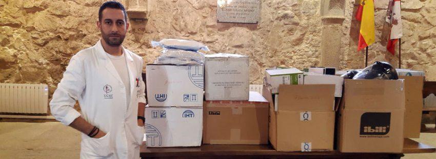 Universidad Católica de Ávila donación material sanitario coronavirus