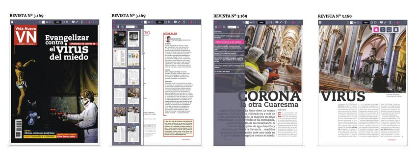 leer vida nueva visor revista abierta