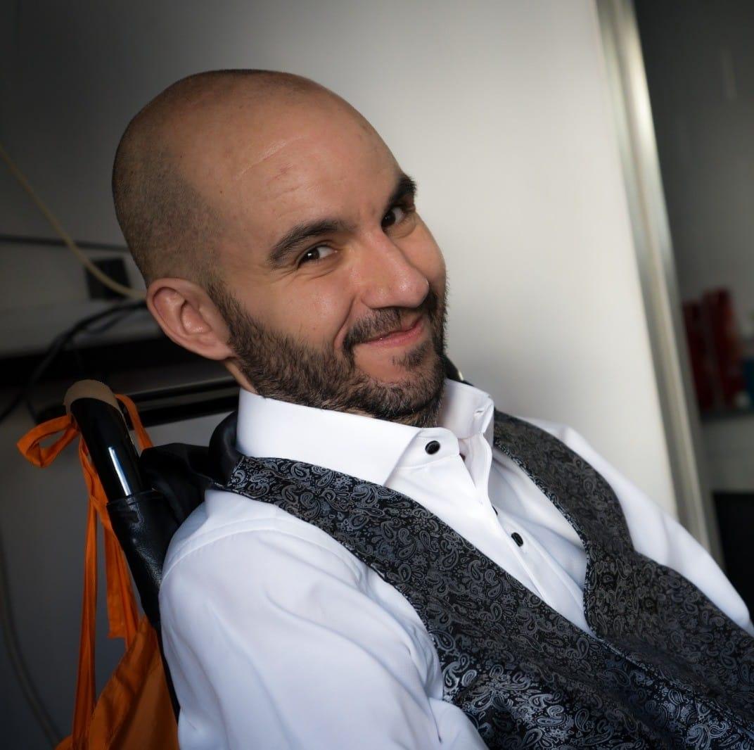 Jordi Sabaté, enfermo de ELA