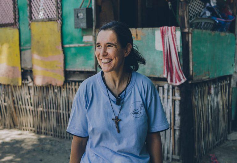 Ana Palma, misionera en Filipinas. Foto Juan Sisto
