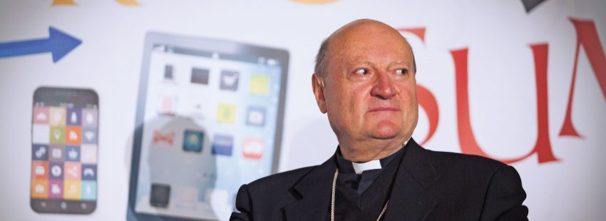 Cardenal Gianfranco Ravasi, presidente del Consejo Pontificio de la Cultura