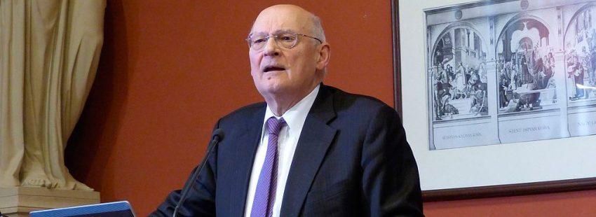 Stefano Zamagni, presidente de la Pontificia Academia para las Ciencias Sociales