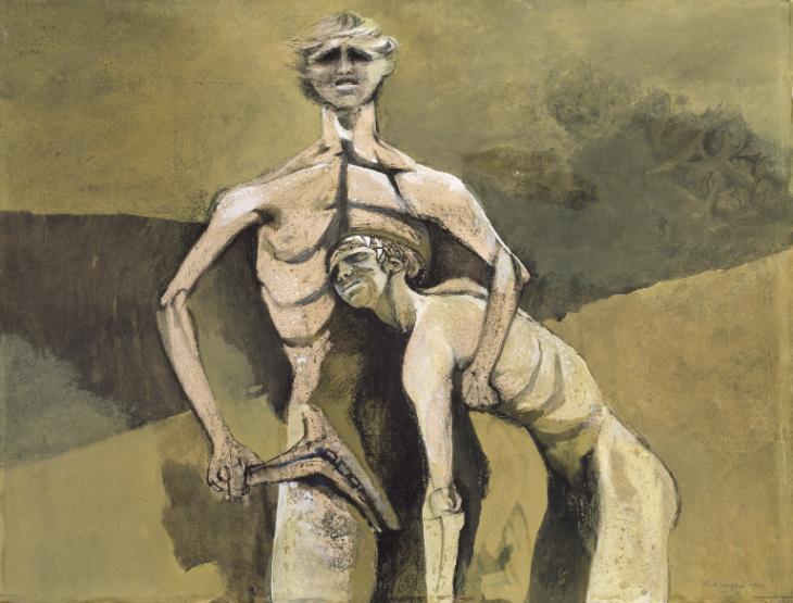 'Cain y Abel', de Keith Vaughan (1946)