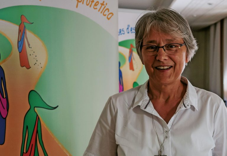 Jolanta Kafka, presidenta de la Unión Internacional de Superioras Generales