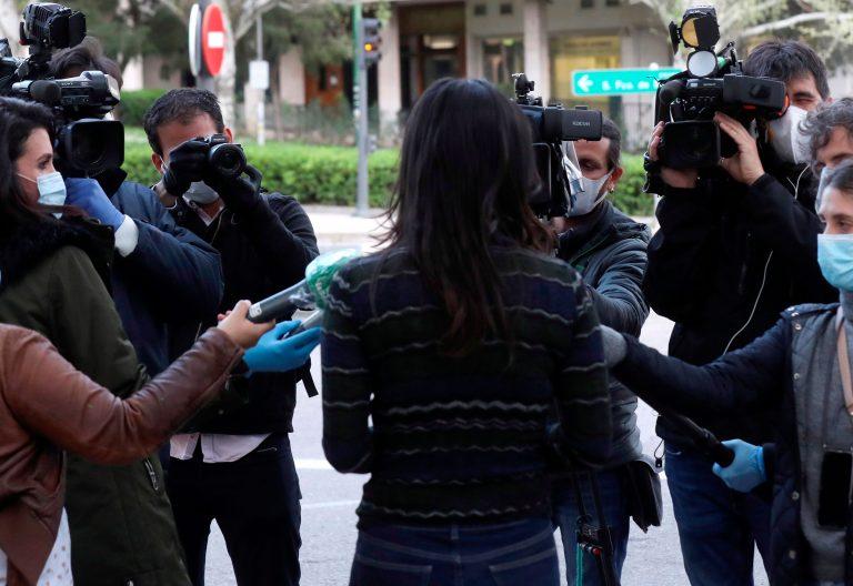 coronavirus periodistas