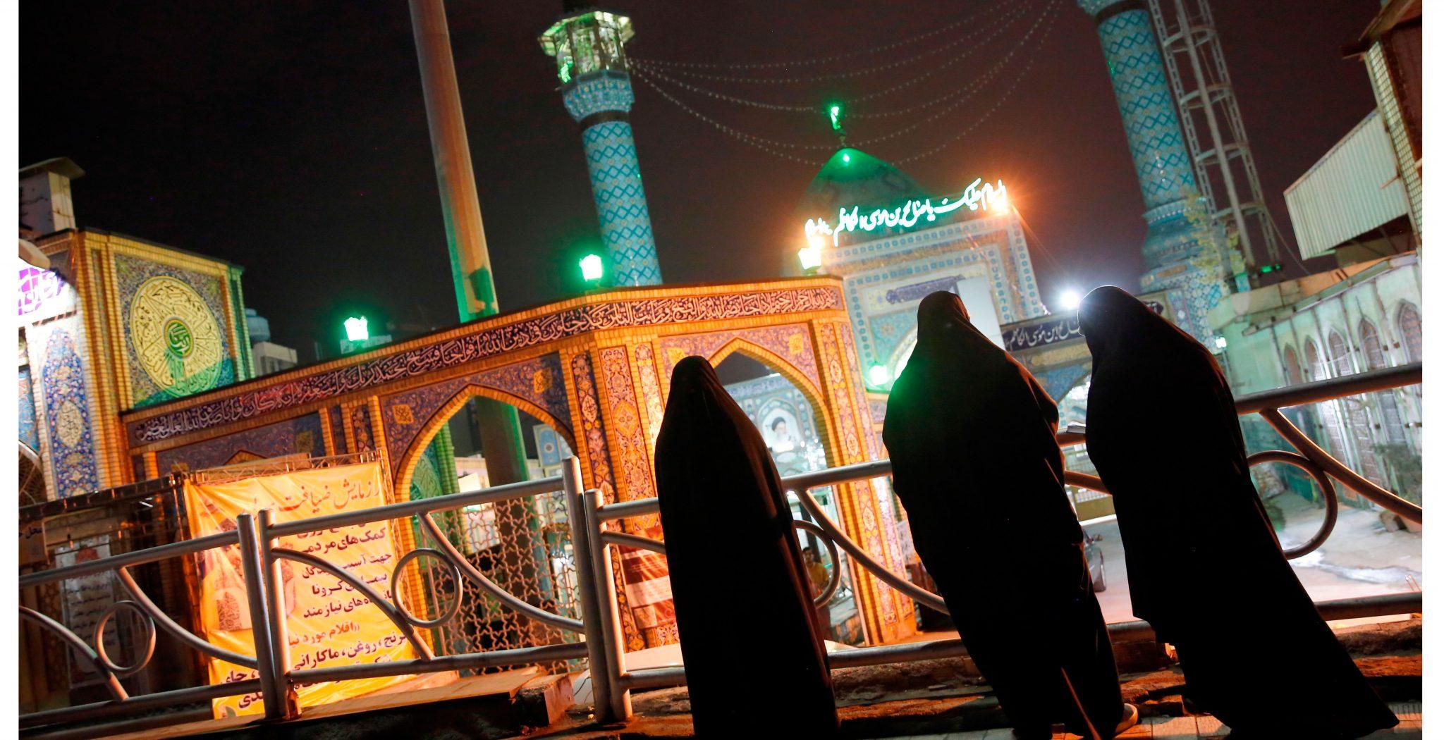 mezquita, Ramadán, Iran