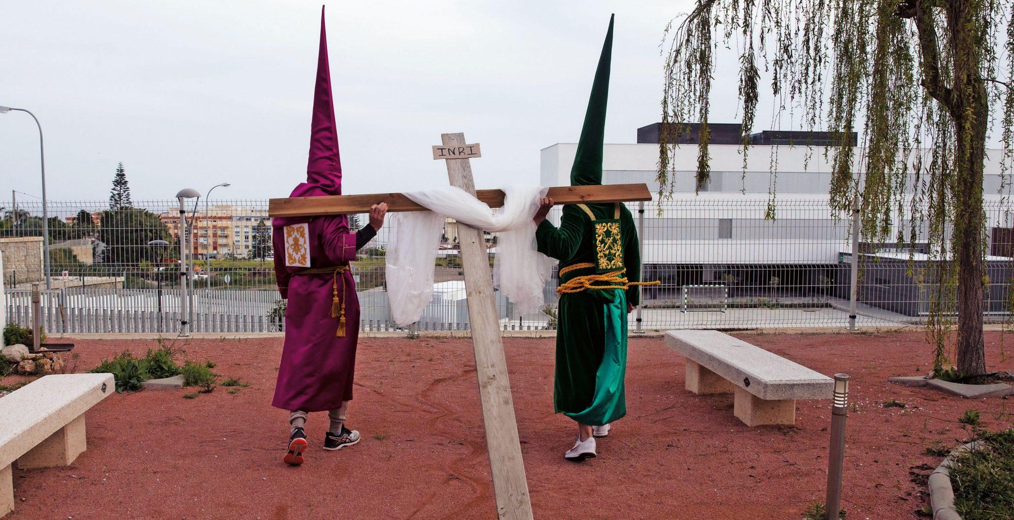 Málaga. Misas sin fieles y procesiones virtuales en un atípico Domingo de Ramos