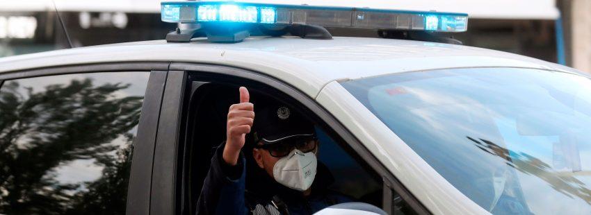 policía coronavirus