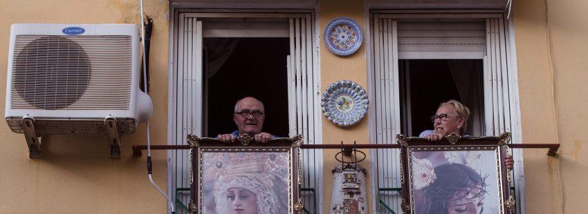 Málaga. Semana Santa en confinamiento