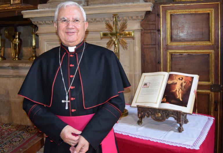 Ramón del Hoyo, obispo emérito de Jaén