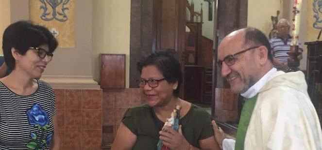 Miguel Fuertes, misionero en Iquitos, Perú