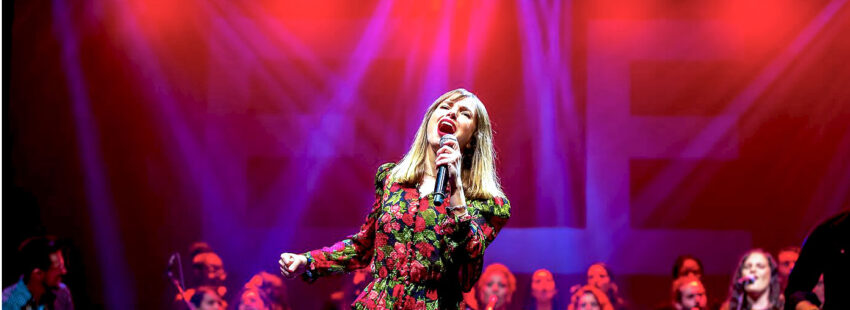 La cantante Elena Iturrieta (ELE)