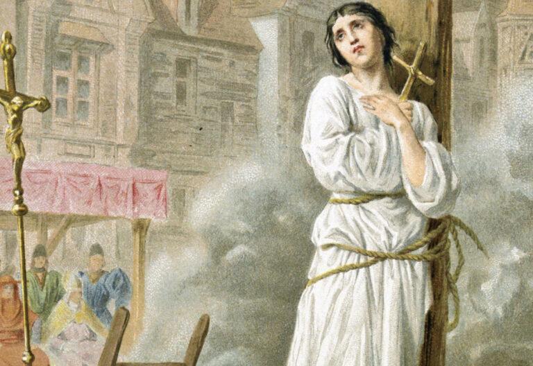 Martirio de Juana de Arco