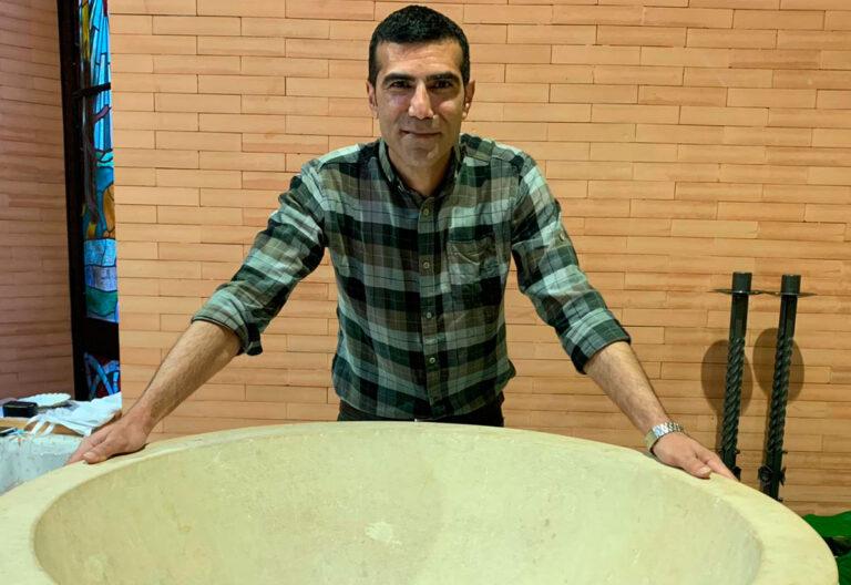 Seyed Mohammad Mahdi, refugiado Burgos