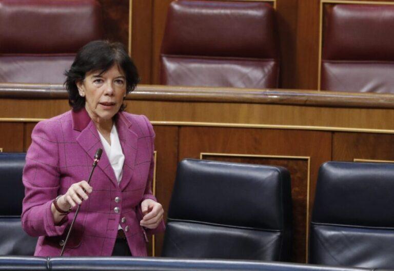 La ministra de Educación Isabel Celaá / EFE