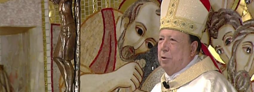 El arzobispo castrense, Juan Del Río