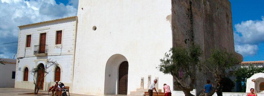 Parroquia San Francisco Javier en Formentera