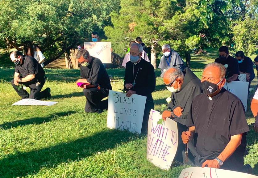El obispo de El Paso se suma a las protestas por el asesinato de George Floyd
