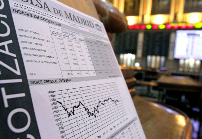 Economía. Bolsa de Madrid