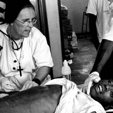Misionera Franciscana en Haití, contra la miseria