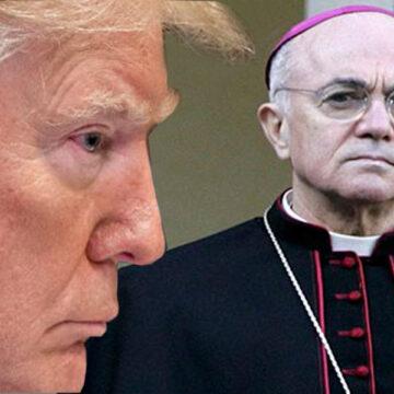 Donald Trump y Carlo Maria Viganò