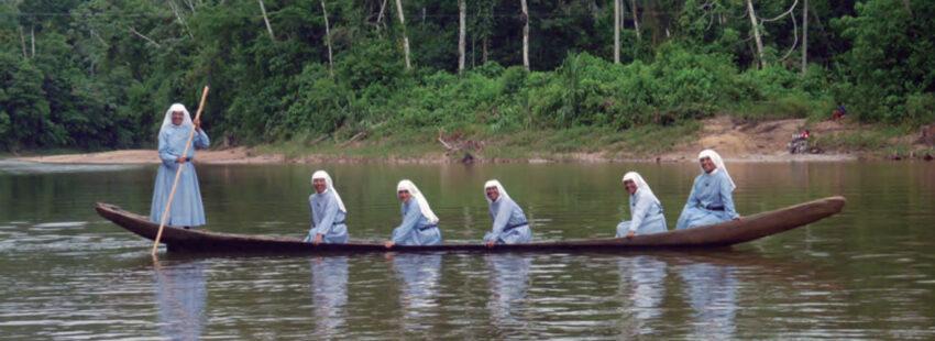 Monjas en la Amazonía