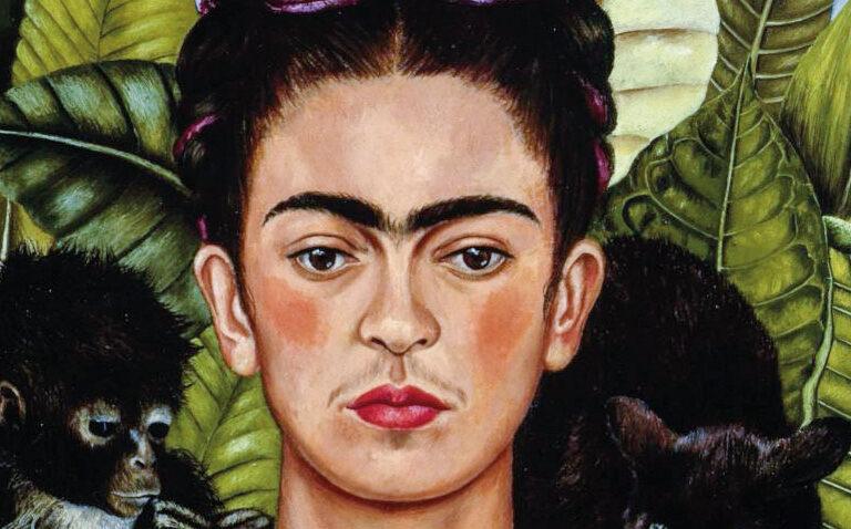"""Frida Kahlo, """"Autorretrato con collar de espinas"""""""