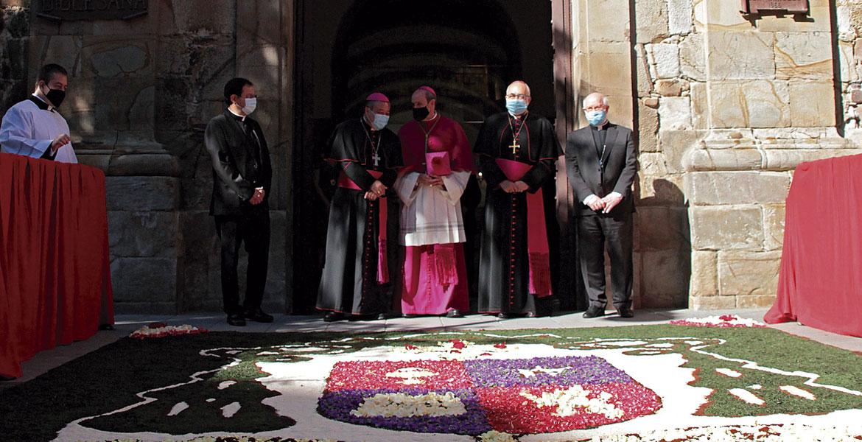 Toma posesión obispo Astorga, Jesús Fernández