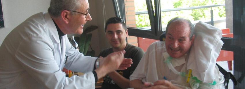 José Ruíz, capellán del Hospital Laguna