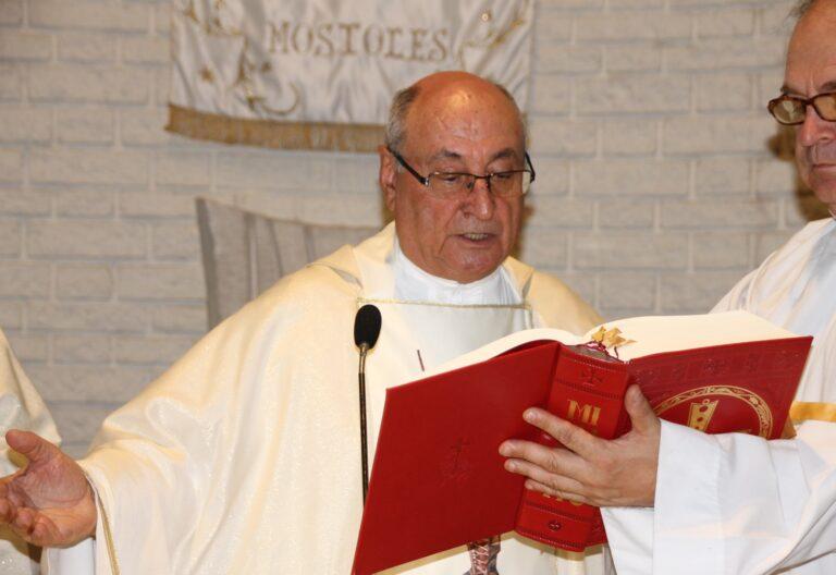 Manolo García Rubio, párroco en Móstoles