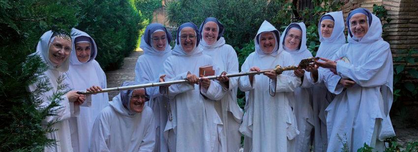 Las hermanas de Belén dejan el monasterio de Sigena
