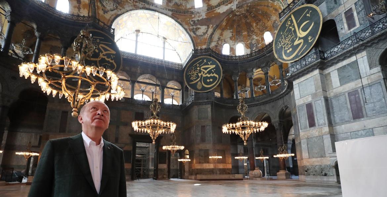 Erdogan Santa Sofia