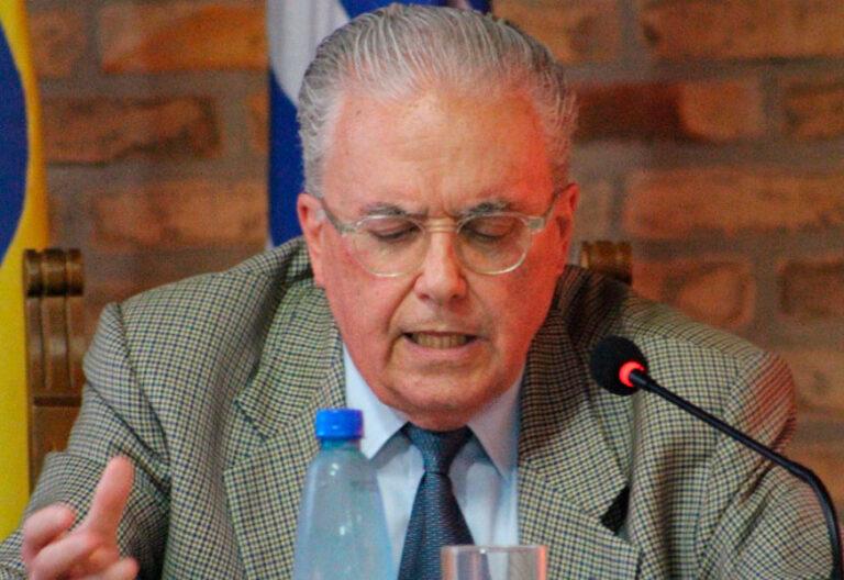 Guzmán Carriquiry, vicepresidente emérito de la Pontificia Comisión para América Latina