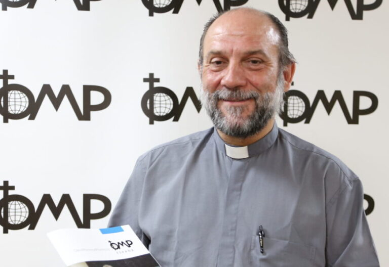 El director de Obras Misionales Pontificias, José María Calderón