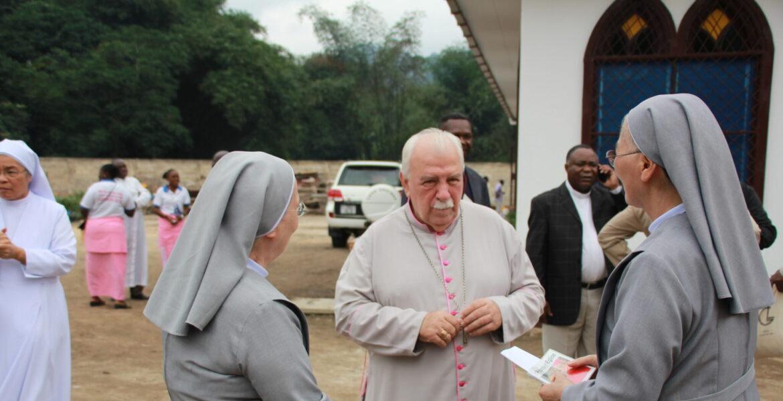 El misionero salesiano Miguel Ángel Olaverri