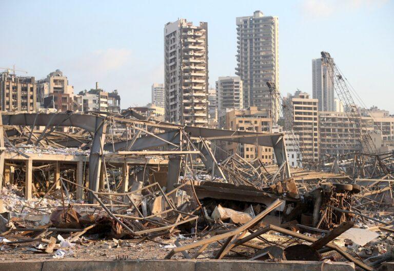 Beirut Líbano explosión