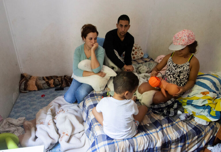 familia sin ingresos