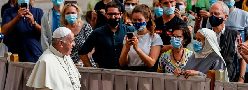 Audiencia general papa Francisco nueva normalidad